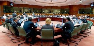 Sesión del concejo de la eu