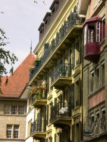 Las calles de Lausanne