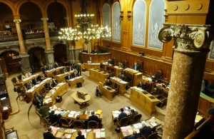 Parlamento suizo - Foto Peter Mosimann