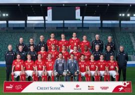 Equipo nacional de futbol de Suiza que participó en la Copa Mundial - La Nati