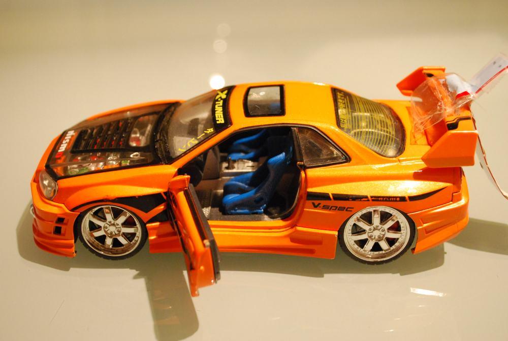Quizás pueda comprarse un auto (aunque sea de juguete) en la feria