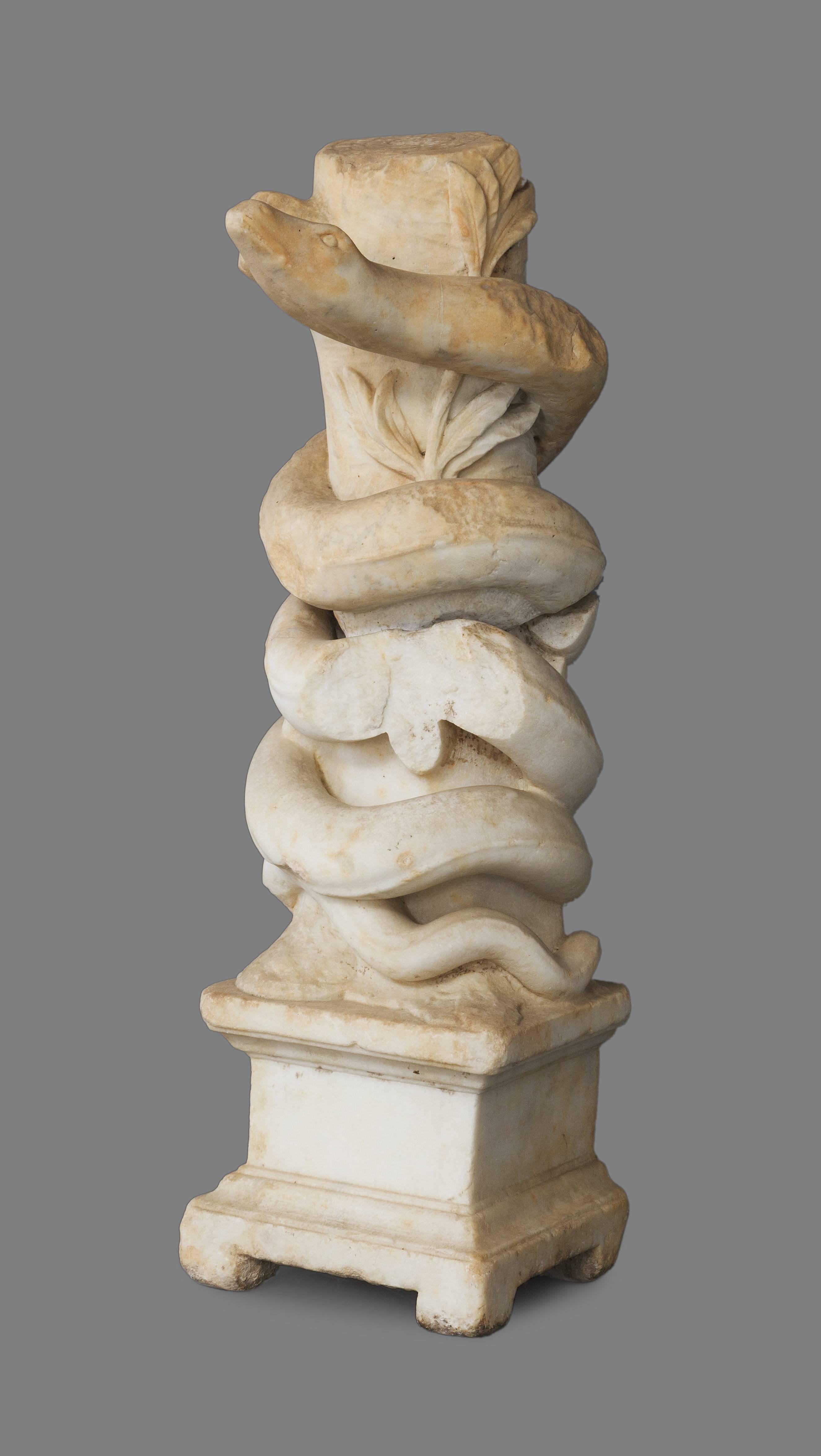 Subastas columna romana se vende a precio r cord - Columna de marmol ...