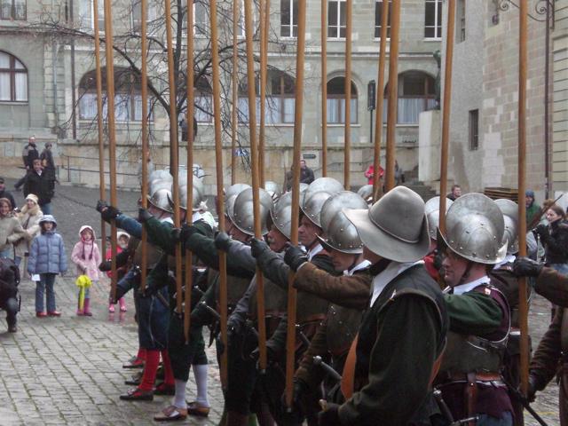 La fiesta de l'Escalade en Ginebra es uno de los eventos más importantes de la ciudad y el más bello en invierno