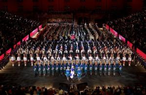 Espectáculo de desfile militar Ba