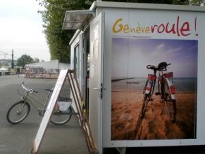 Geneve Roule facilita el préstamo de bicicletas gratis en Ginebra durante los meses cálidos