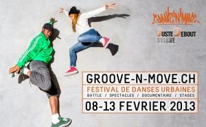 Afiche de festival de danza urbana en Ginebra