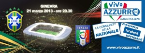 partido de futbol italia y brasil en ginebra
