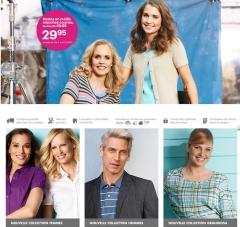 Captura de pantalla de la plataforma de venta de Charles Voegele