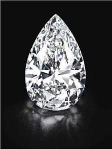 Diamante de 100 quilates a la venta en Christie's de Ginebra, Suiza - Foto de prensa de Christie's