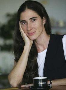 Foto de la blogera Yoani Sánchez quien ha recibido varios premios por su recuento anticastrista