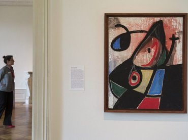 Arte en Ginebra - Miró