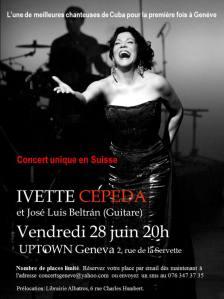 Ivette Cepeda en Ginebra