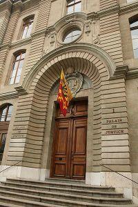 Palacio de justicia en Ginebra