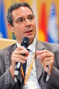 Raymond Torres de la OIT en 2010 - Foto OIT