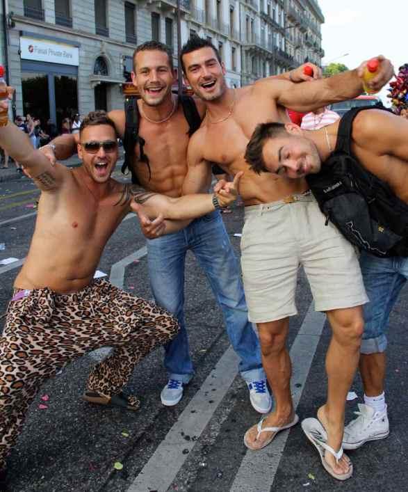 The men at Geneva's Lake Parade007