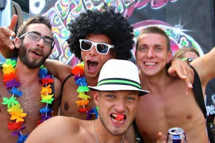 The men at Geneva's Lake Parade043