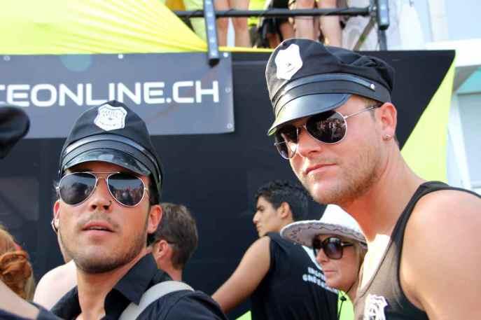 The men at Geneva's Lake Parade075