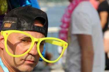 The men at Geneva's Lake Parade109