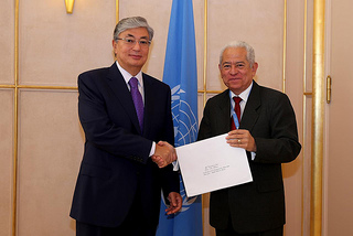 Jorge Valero Embajador de Venezuela ante la ONU en Ginebra