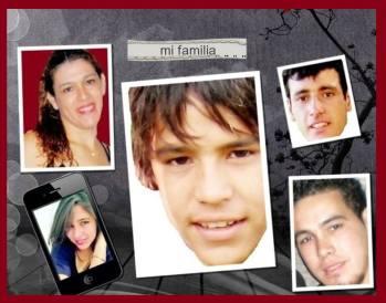 Foto de la familia paraguaya que desea despedir a su madre - Publicada con permiso de su hijo Wildo