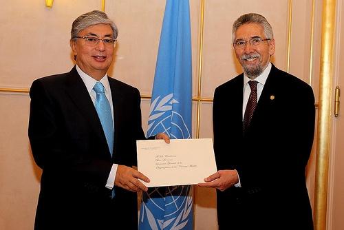 Francisco Villagrán de León nuevo Embajador ante la ONU en Ginebra - Foto Pierre-Michel Virot UNIS