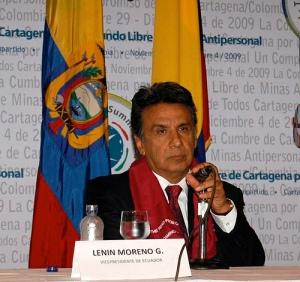 El ex Vicepresidente de Ecuador Lenin Moreno es ahora Comisionado de la ONU para la discapacidad