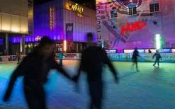 Pista de patinaje en Flon - Cortesía de la ciudad de Lausanne