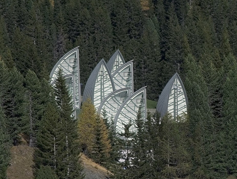 Centro Wellness Bergoase - Foto del sitio de Mario Botta