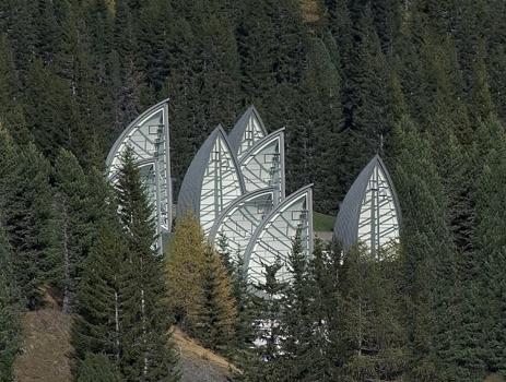 Centro Wellness Bergoase - Foto del sitio de Mario Botta