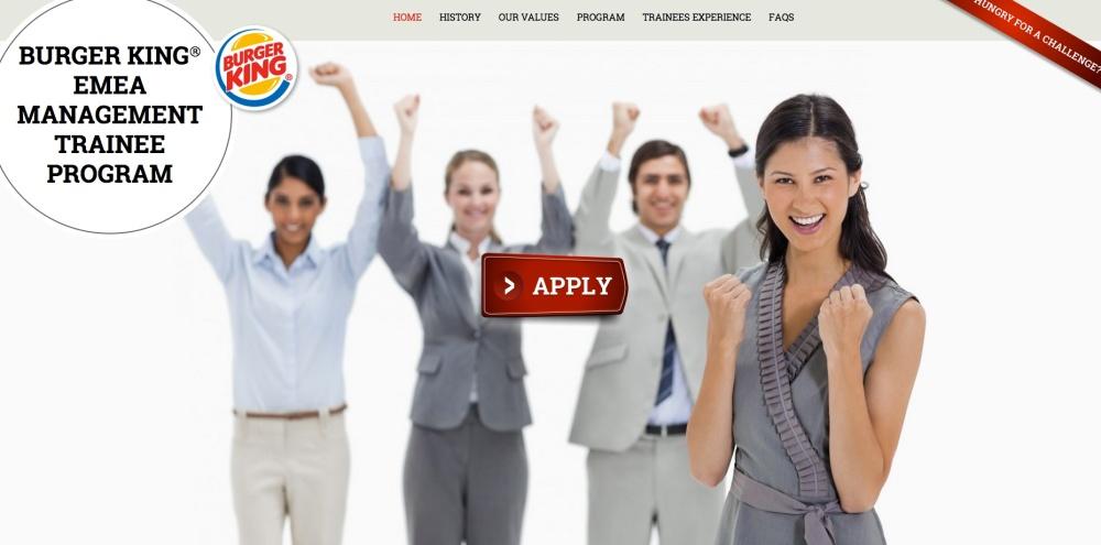 Captura de pantalla del sitio de internet donde se puede inscribir al programa de empleo a jóvenes.