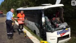Imagen del video del accidente