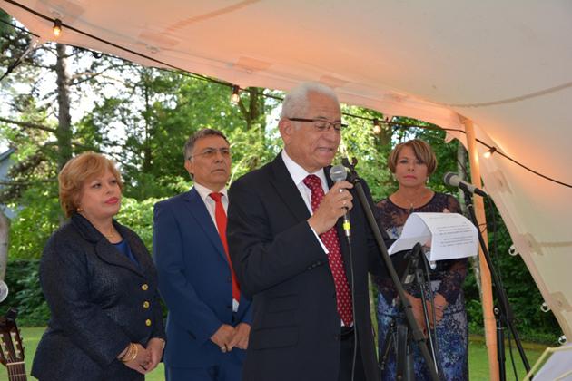 Representante de Venezuela ante ONU en Ginebra conmemora Día Nacional en Venezuela - Foto Prensa Venezuela