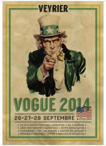 Poster Vogue de Veyrier 2014