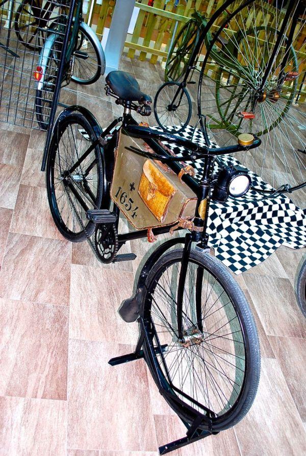 1950s Swiss military bike