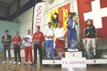 Venzolano gana copa de esgrima en Suiza