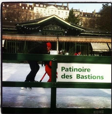 Patinoire des bastions-pista de patinaje en hielo en Ginebra, Suiza - Foto de Laila Rodriguez