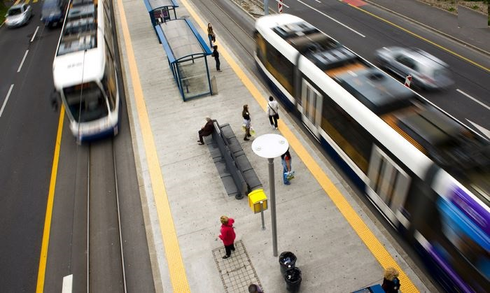 Autobuses y tranvias de TPG en Ginebra - Foto de prensa de la TPG