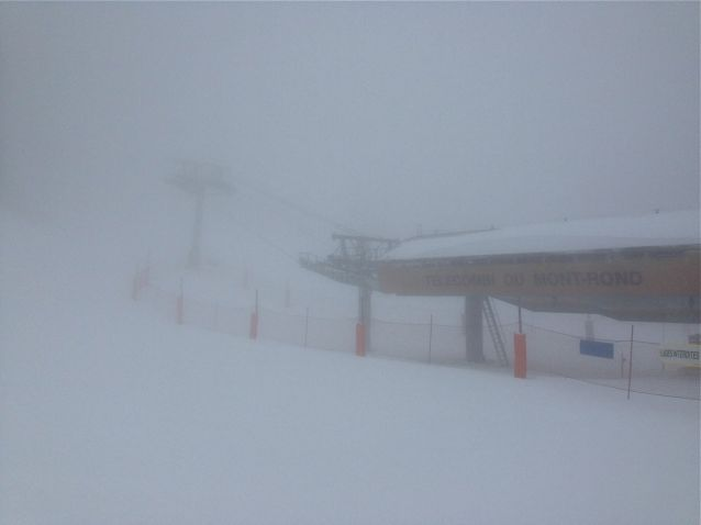 Snow storm over Pays de Gex in France4