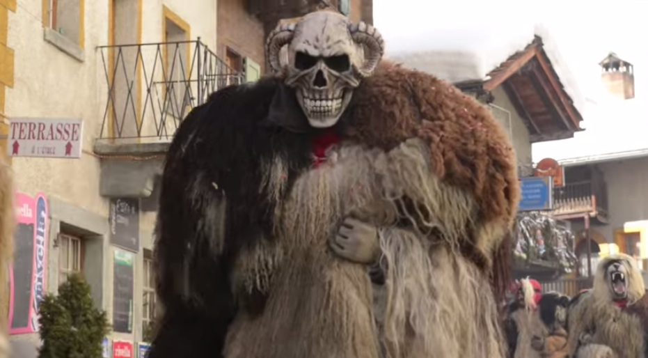 Carnaval de Evelone en Suiza