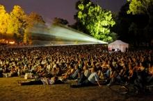 CineTransat free movies at the park in Geneva Switzerland