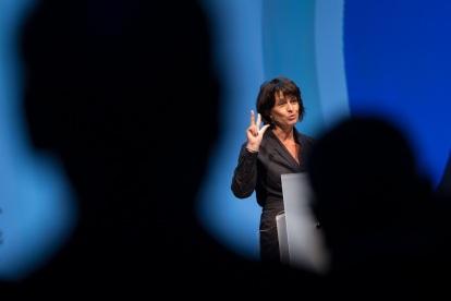 Ministra de Transporte, Energía y Medio Ambiente de Suiza Doris Leuthard - PHOTOPRESS/Dominik Baur