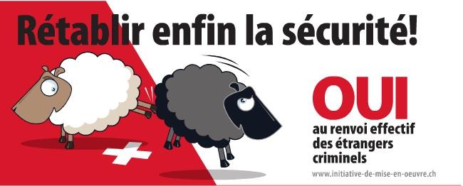 Iniciativa xenófoba de la UDC en Suiza
