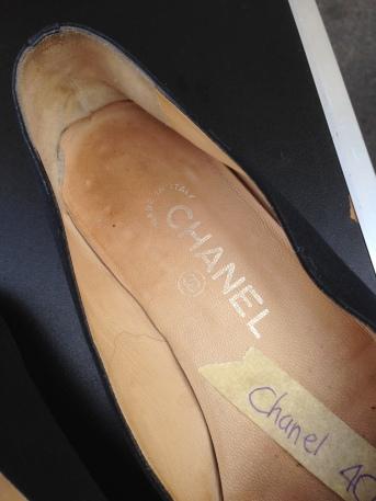 Zapatos Chanel vintage