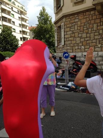 Artistas en St Jean