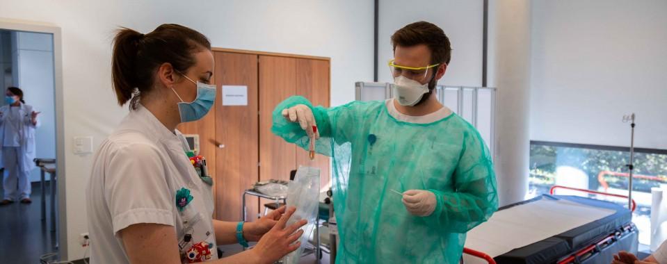 Covid-19: Sistema hospitalario en Ginebra necesita voluntarios capacitados